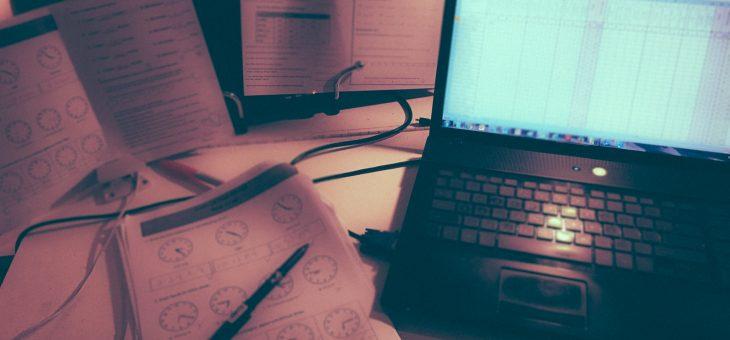 Back at the Desk!